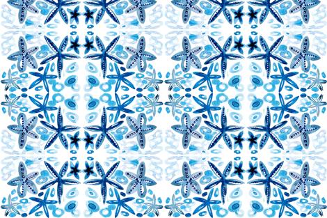 cestlaviv_strafish7 lace fabric by cest_la_viv on Spoonflower - custom fabric