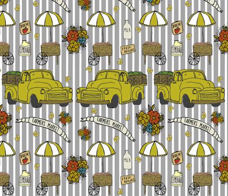 Grand Ole Market fabric by belovedinnyc on Spoonflower - custom fabric
