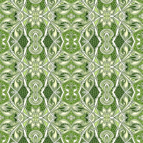 De Bud De Vine  fabric by edsel2084 on Spoonflower - custom fabric