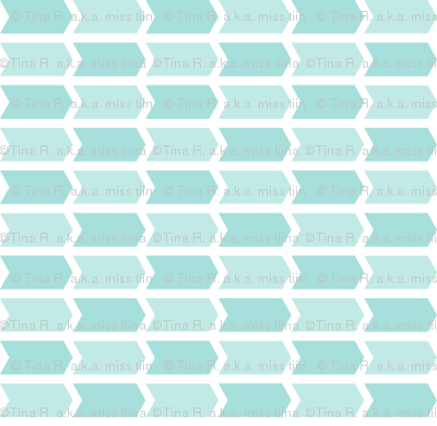 {everyday} teal blue arrows
