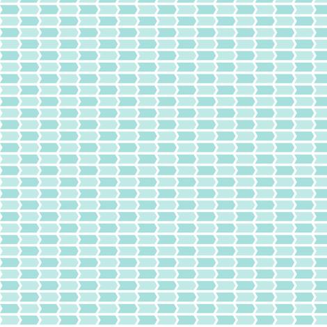{everyday} teal blue arrows fabric by misstiina on Spoonflower - custom fabric