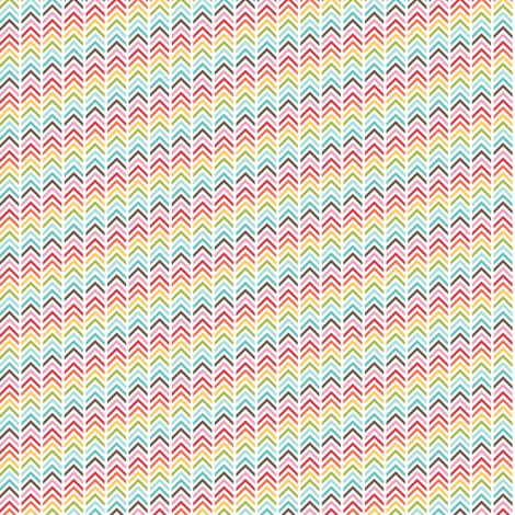 {everyday} herringbone multi fabric by misstiina on Spoonflower - custom fabric