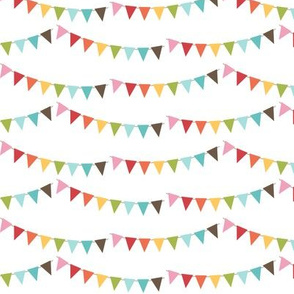 {everyday} rainbow bunting