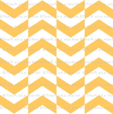 {everyday} herringbone yellow
