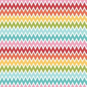 {everyday} rainbow chevron