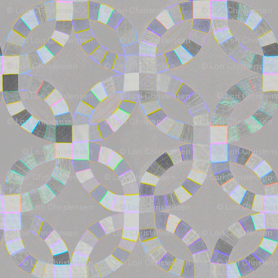 foggy  cheater quilt