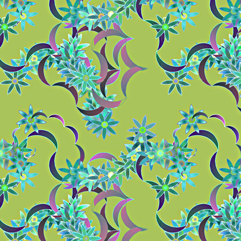 Floral-32-32a fabric by patsijean on Spoonflower - custom fabric