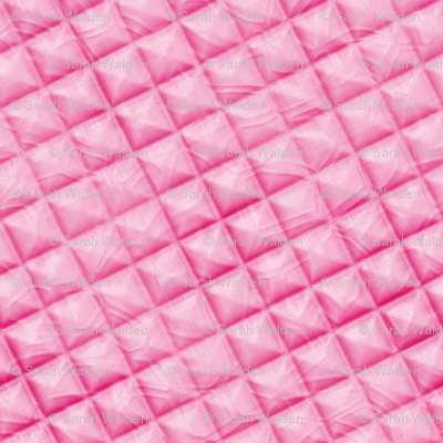 Quilted and Puffed ~ Pink