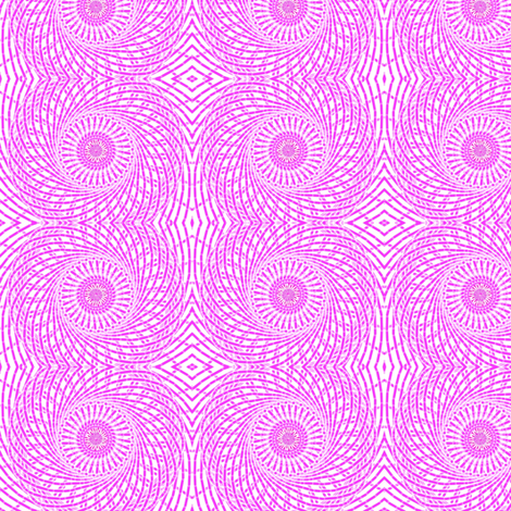 Owl Eyes Pink fabric by ravynscache on Spoonflower - custom fabric