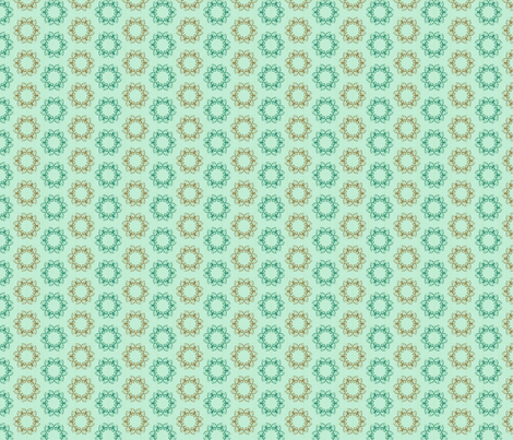 butterflake dots serenity synergy0004 a fabric by glimmericks on Spoonflower - custom fabric