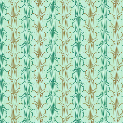 lily leaf serenity synergy0004 a fabric by glimmericks on Spoonflower - custom fabric