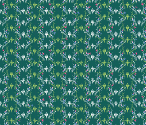 LILLIEs doctor synergy0011 fabric by glimmericks on Spoonflower - custom fabric