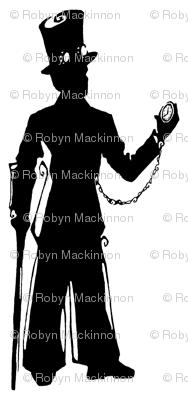 Inkblot Steampunk Gentleman