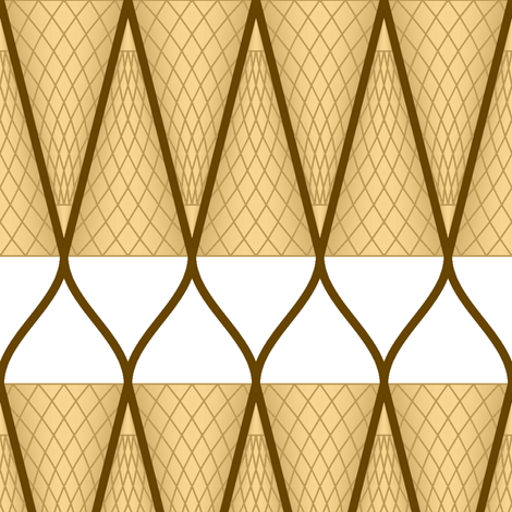 icecream cone 2j fabric by sef on Spoonflower - custom fabric