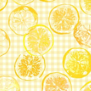 sunshine lemons and oranges