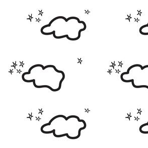 Clouds Black & White