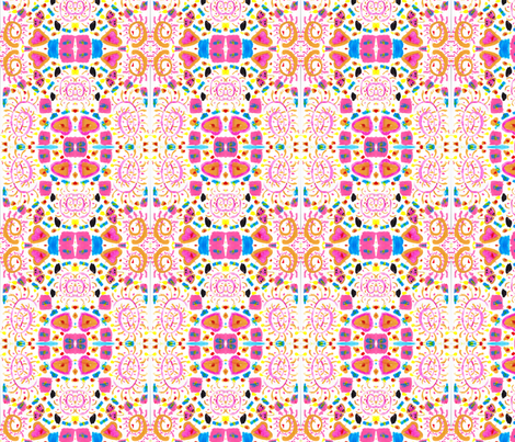 Happy Paisely fabric by moonwolf23 on Spoonflower - custom fabric