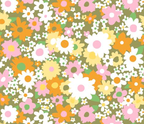 vintage 14 fabric by kategabrielle on Spoonflower - custom fabric