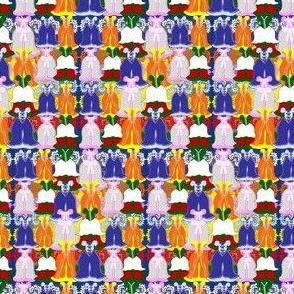 Victorian Multiple Dress Fabric