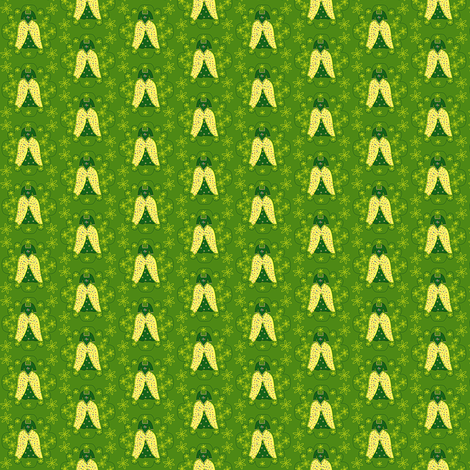 Victorian Green and Yellow Dress Fabric #2 fabric by lworiginals on Spoonflower - custom fabric