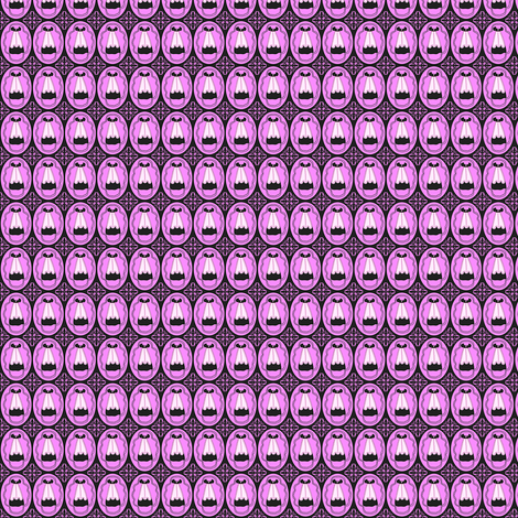 Victorian Black  and Pink Dress Fabric #1 fabric by lworiginals on Spoonflower - custom fabric