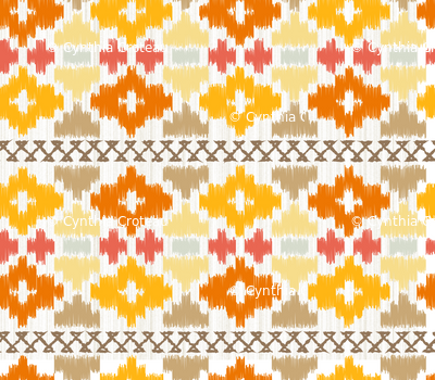 Navajo blanket - Sunset