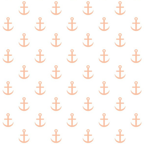 anchored in peach