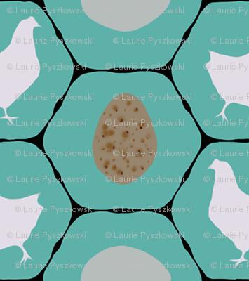 Chicken Coop - Hens & Eggs