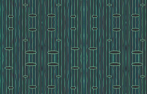 Nechrotic Stripe fabric by undercovernerd on Spoonflower - custom fabric