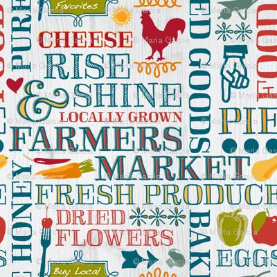 Farm Fresh Market Signage
