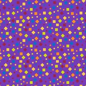Confetti on Purple
