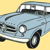1950's Borgward station wagon from Germany