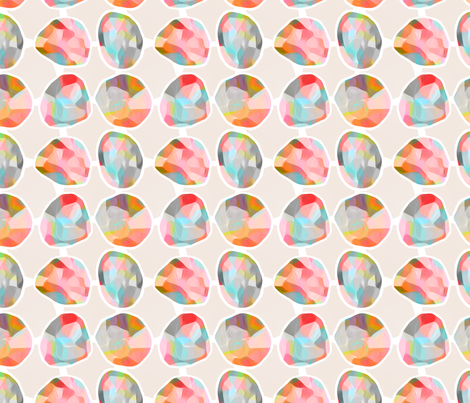 Gems fabric by melbity on Spoonflower - custom fabric