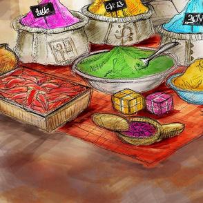 Morocco market