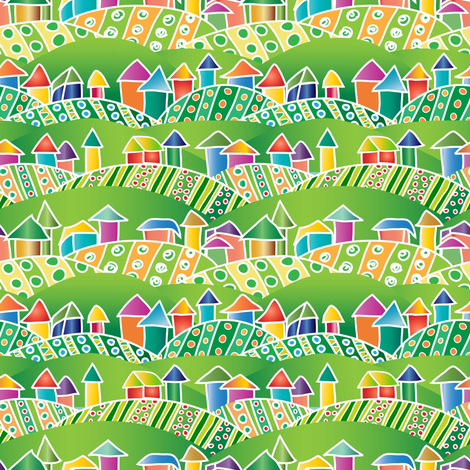 To Market We Go! (say all the farmers) fabric by vo_aka_virginiao on Spoonflower - custom fabric