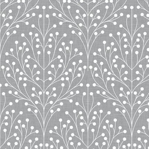 Berry shrub damask gray