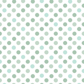 Polka Dot Charm greens