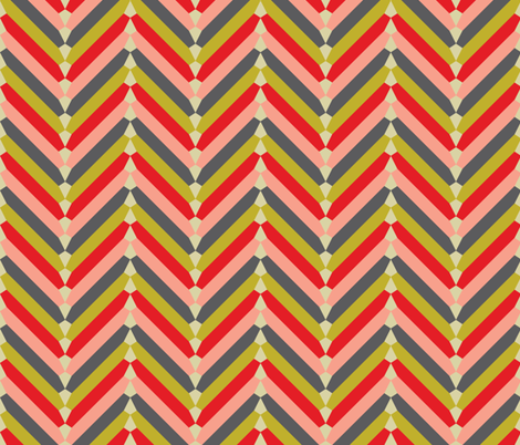 gypsy_chevron fabric by holli_zollinger on Spoonflower - custom fabric