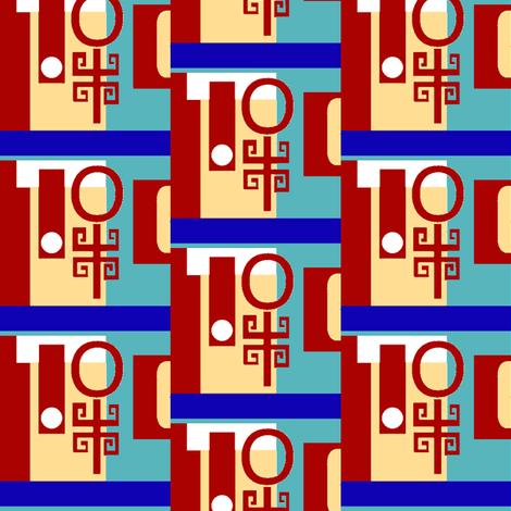 Chinoiserie Cubbies fabric by boris_thumbkin on Spoonflower - custom fabric