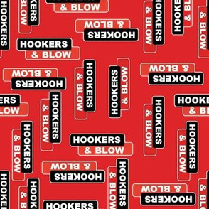 hookers and blow red