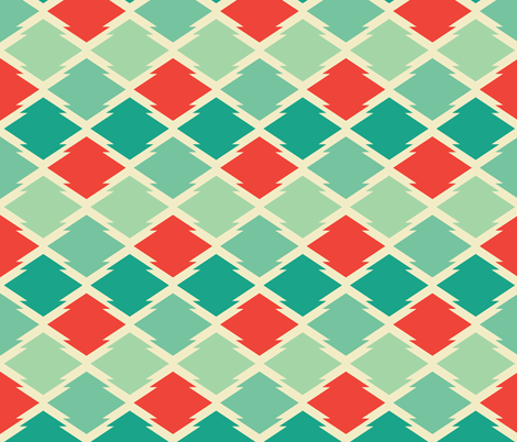 gypsy_stars fabric by holli_zollinger on Spoonflower - custom fabric