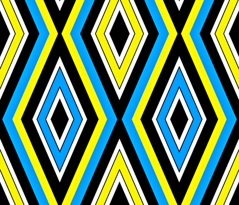 Elongated Harlequin fabric by whimzwhirled on Spoonflower - custom fabric