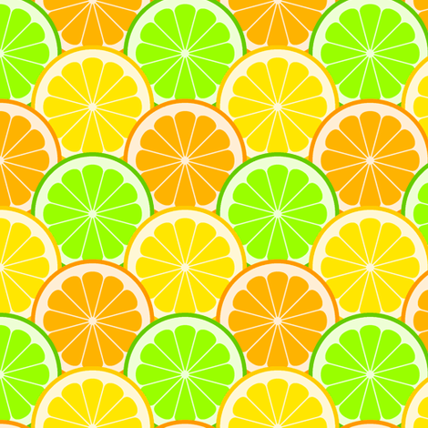 citrus scales R6 fabric by sef on Spoonflower - custom fabric