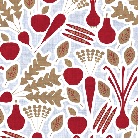Farmers Market 2 fabric by sary on Spoonflower - custom fabric