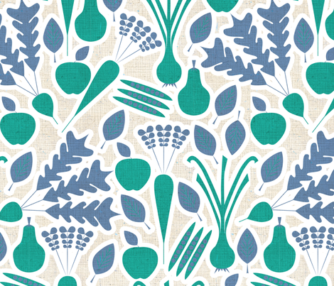 Farmers Market 3 fabric by sary on Spoonflower - custom fabric