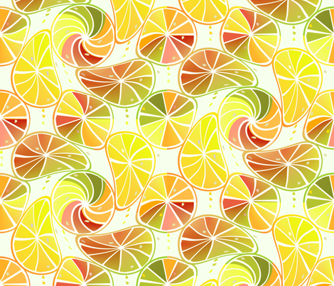 Citrus fabric by alfabesi on Spoonflower - custom fabric