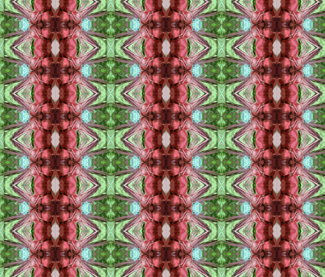 Beet Rows fabric by woodsworks on Spoonflower - custom fabric