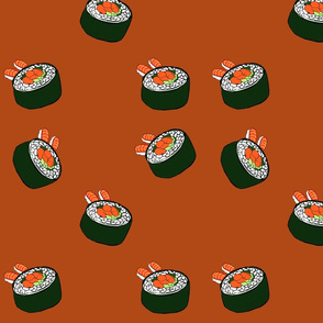 sushi kaleidoscope-ed