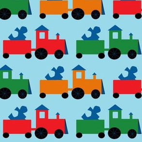 Tyler's Train Tripled