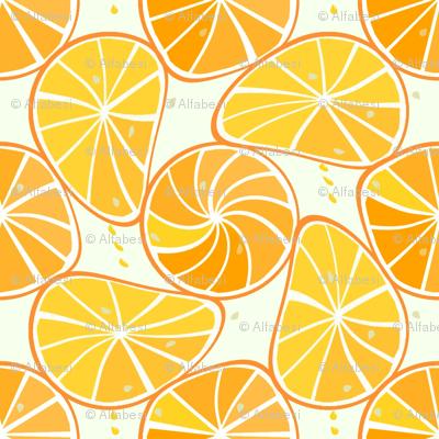 orange-tangerine slices